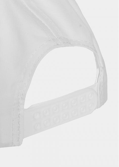 White plain active cap