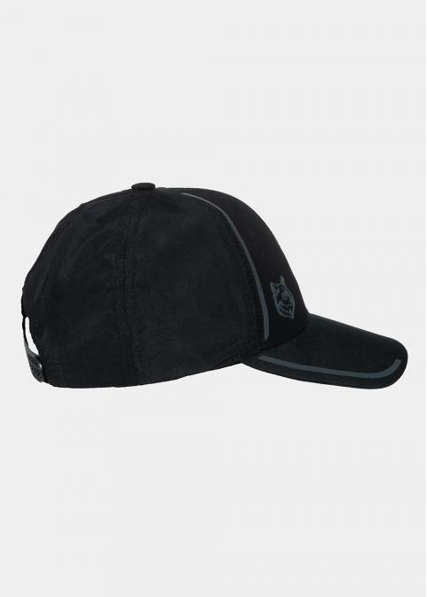 Black wolf active hat