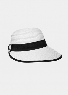 White, lady's hat